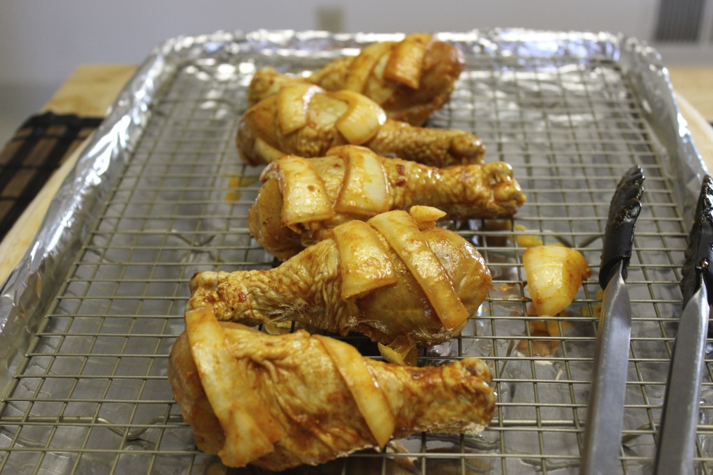 citrus roasted drumsticks 1