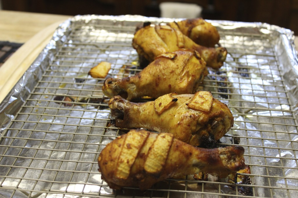 citrus roasted drumsticks 6