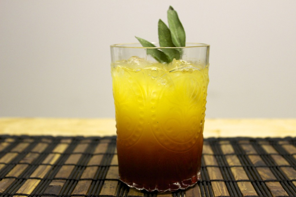 citrus sage sunset cocktail 88