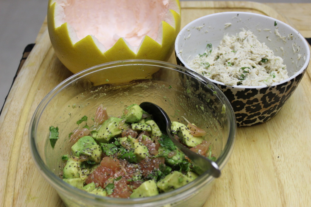 pomelo avocado crab salad 55