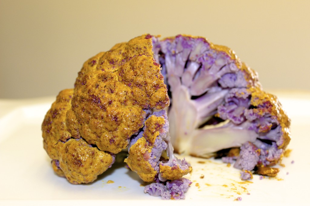 whole roasted cauliflower 63