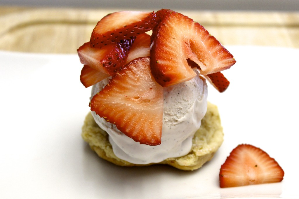 coconut ice cream strawberry shortcake 16