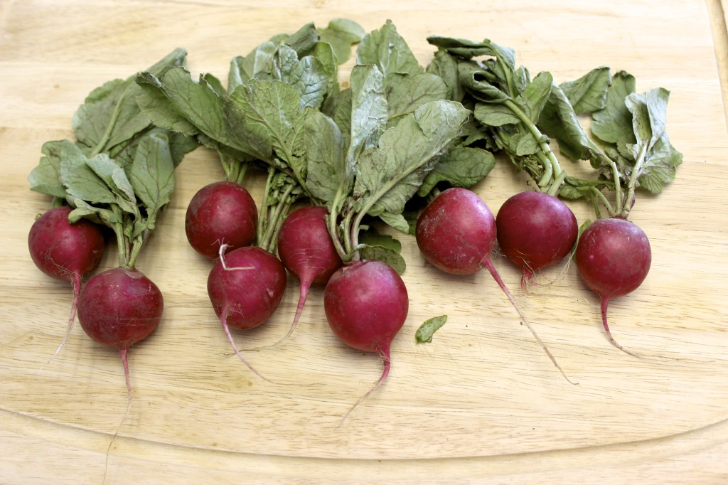 herb roasted radishes 5