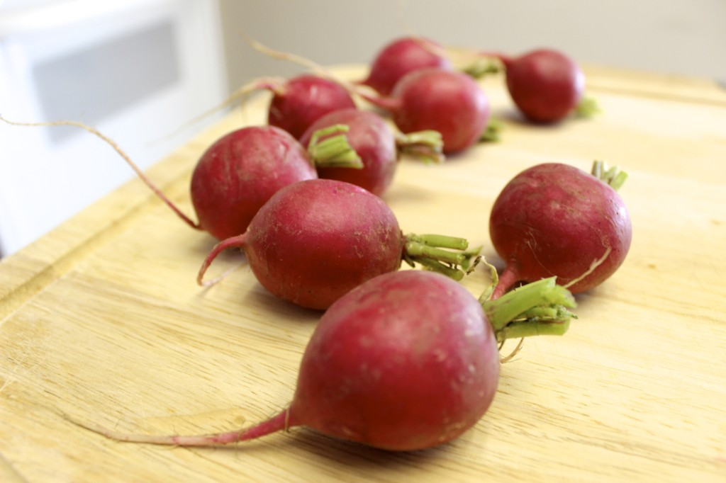 herb roasted radishes 8