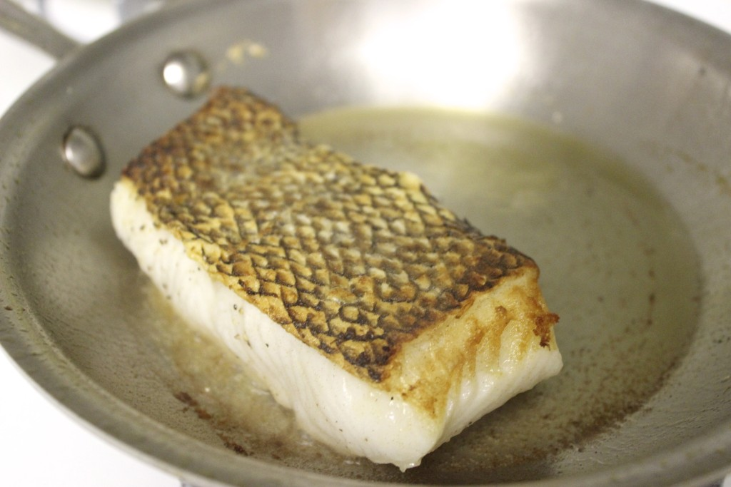 How to Cook Crispy Skin Fish 12