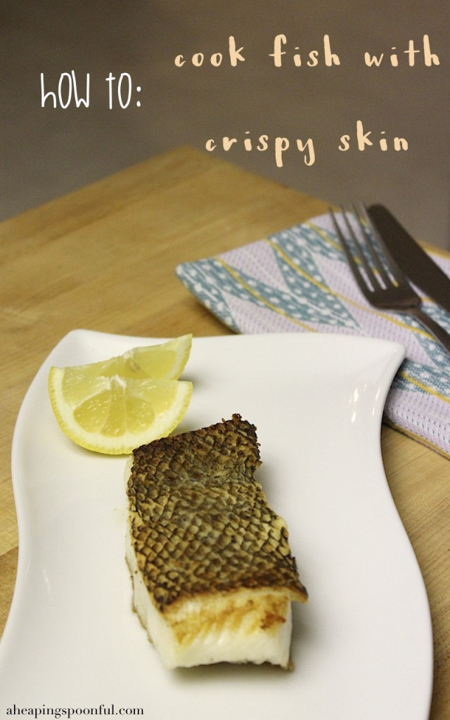 How to Cook Crispy Skin Fish 30