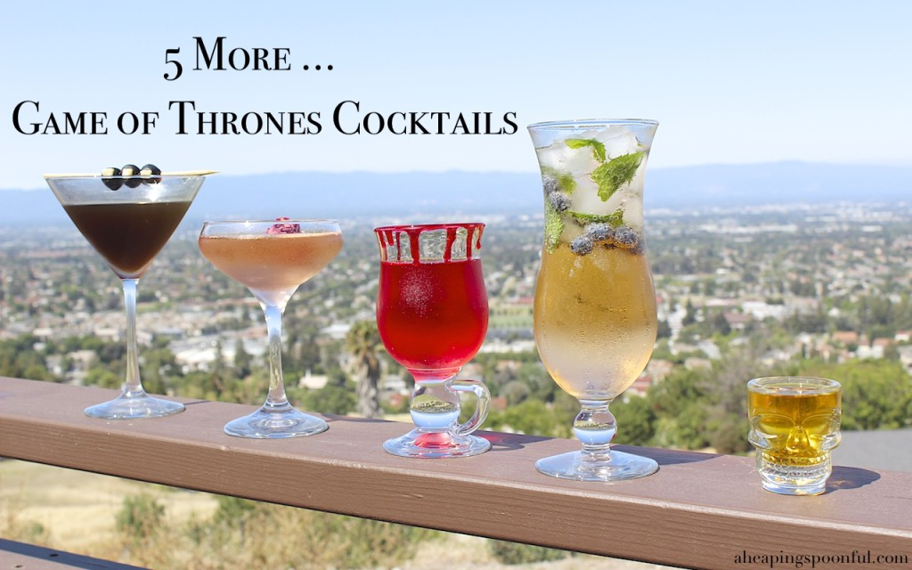 Game of Thrones Cocktail Drinks 99